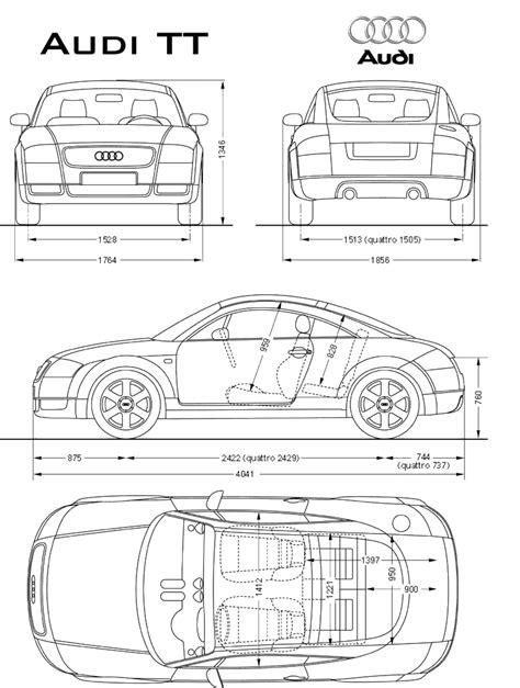 Car Blueprints Чертежи автомобилей Audi