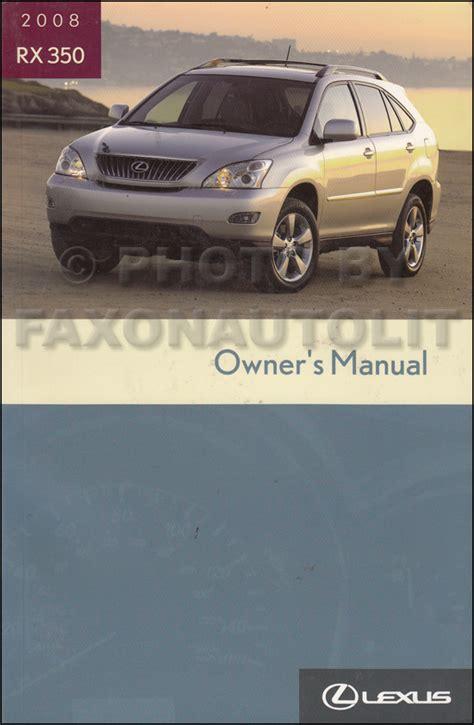 lexus maintenance manual service manual 2008 lexus rx hybrid maintenance manual