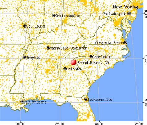 broad river map broad river ga 30538 profile population maps