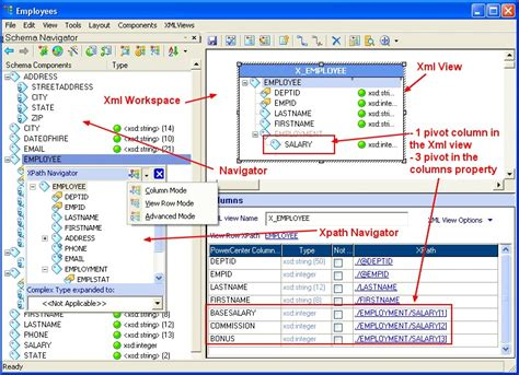 xml editor design view powercenter xml source gerardnico
