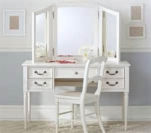 blythe desk and mirror vanity hutch pottery barn
