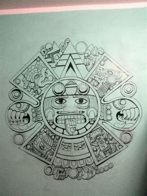aztec tattoo designs free best 25 aztec calendar ideas on aztec symbols