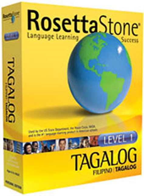 rosetta stone tagalog some simple filipino words and sentences