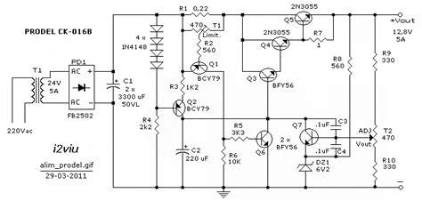 schemi alimentatori switching schemi e circuiti di progetti elettronici per hobby per