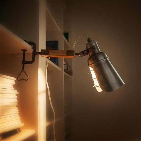 clip on light by home address notonthehighstreet com