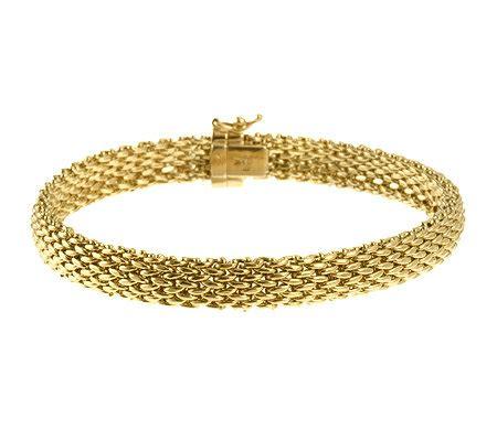 Gold Armband Polieren by Gold 585 Milanaise Armband Ca 19cm Kastenschloss Poliert