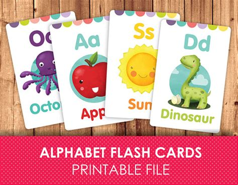 printable alphabet flash cards by nikita flashcards for kids printable flash cards abc flashcards
