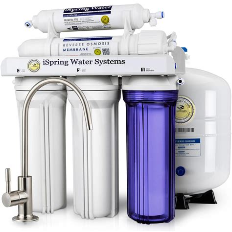 Water Filter System Sink by Ispring Wqa Gold Seal 5 Stage With Superior Quality Filter