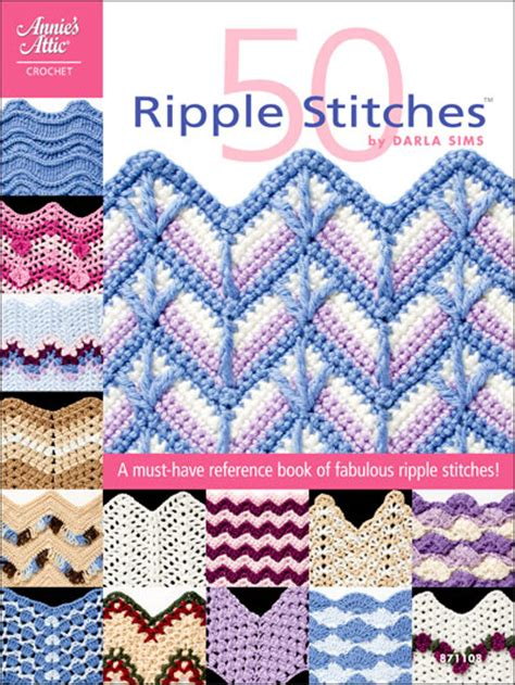 ripple books gt 50 ripples stitches crochet book review and giveaway