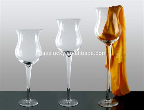 Big Wine Glass Vase by Wholesale Wine Glass Vase For Wedding Decoration