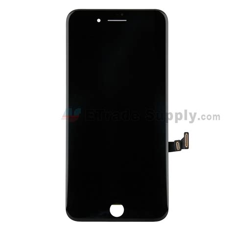 apple iphone 8 plus lcd screen and digitizer assembly with frame black grade s etrade supply