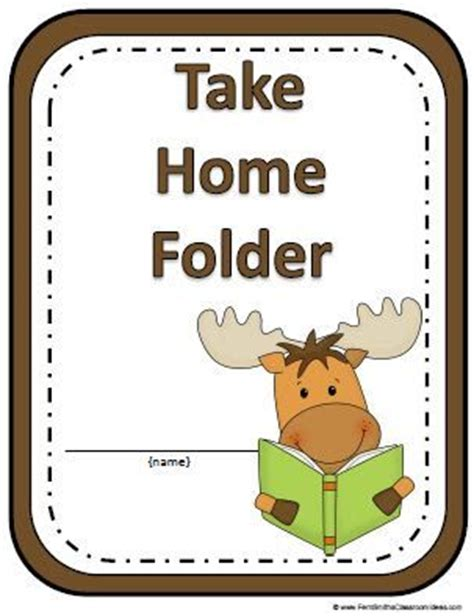 25 best ideas about homework folder labels on