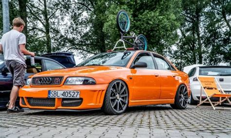 Audi A4 B5 1 8t Tuning by Archiwalne Electricorange Audi A4 B5 1 8t Tuning Static