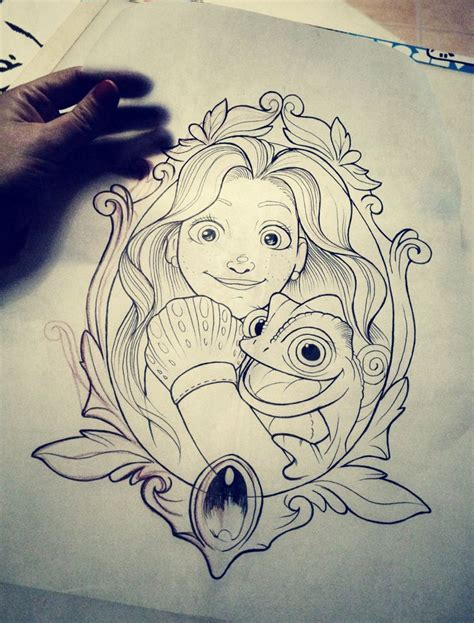 tangled tattoo 25 best ideas about tangled on disney