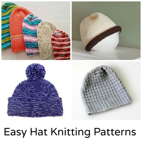 easy knit hat pattern for 12 and easy knit hat patterns
