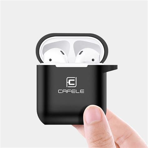 coque silicone gel cafele mat series apple airpods