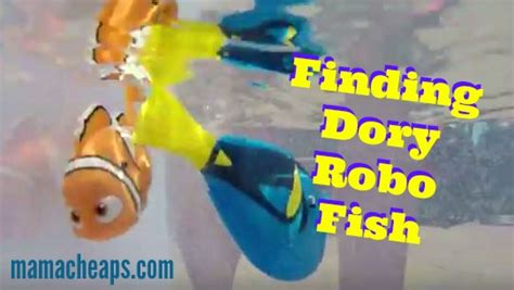 Disney Robo Fish Swimming Finding Dory Bailey finding dory robo fish from zuru toys review with