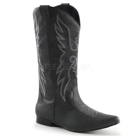 1 quot flat heel cowboy boot chelsea 102 discontinued