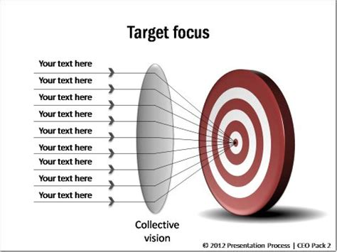 1 Simple Trick To Create Concentric Circles Super Fast In Powerpoint Target Powerpoint Template