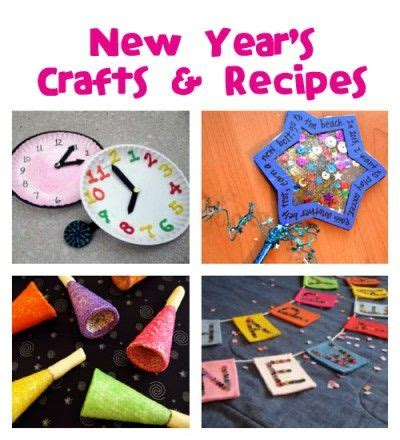 new year recipes for preschool new year s crafts recipes family crafts
