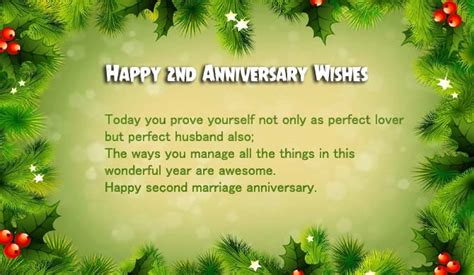 second wedding anniversary quotes for 2nd marriage anniversary wishes for husband wishes4lover