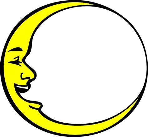 crescent moon clipart crescent moon smiling clip at clker vector clip