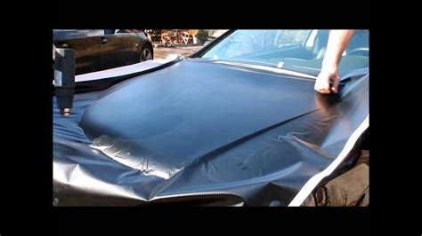 Carbon Folie Youtube by Motorhaube Mit Carbonfolie Beziehen Youtube