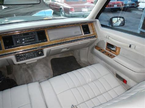 1991 lincoln town car mpg 1991 lincoln town car executive in el cajon ca 1 owner