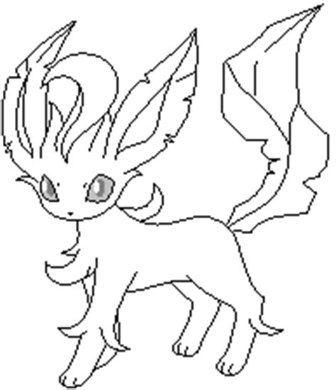 pokemon coloring pages of leafeon pokemon leafeon coloring pages coloring pages