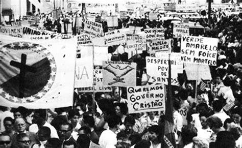 Governo Jango E O Golpe De 64 Redemocratiza 231 227 O Brasileira Hist 243 Ria Educa 231 227 O