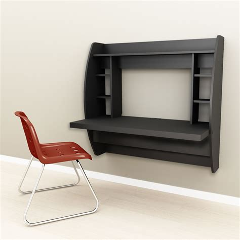 black floating desk black floating desk with storage prepac behw 0200 1