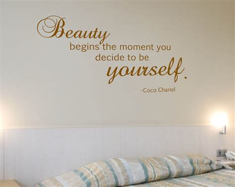 beauty begins  moment  decide    coco