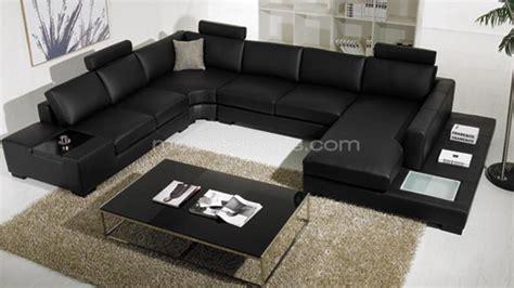 Canapé En U Cuir 1753 by Canap 195 169 D Angle Cuir Design Panoramique Fritsch Avec Lumi 195 168 Re