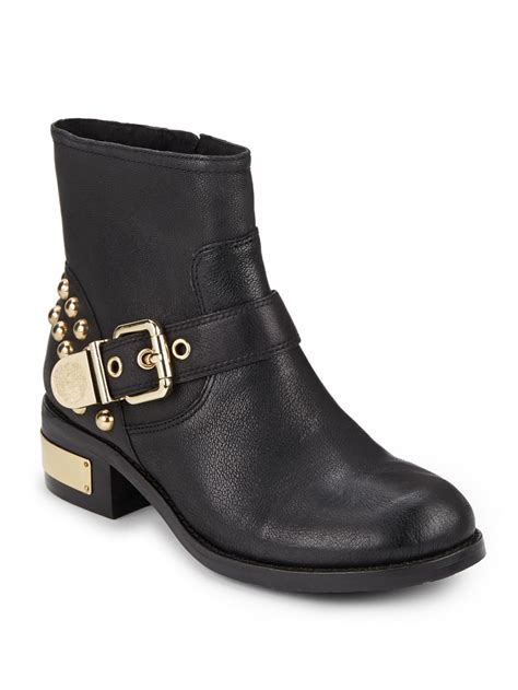 vince camuto boots sale vince camuto windetta studded leather ankle boots in black