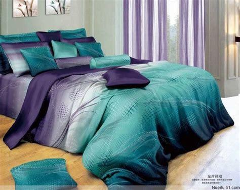 Sprei Set Swan In Violet King Size Ukuran 180 X 200 1 beautiful 4pc 100 cotton comforter duvet doona cover sets king size bedding