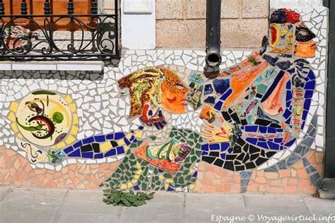 Map Mural Wall costa calida aguilas wall mosaic spain
