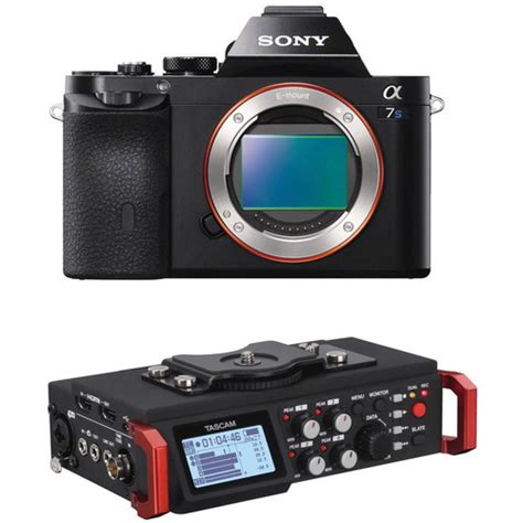 Sony Alpha A7s Mirrorless Digital 1 sony alpha a7s mirrorless digital with 6 track b h