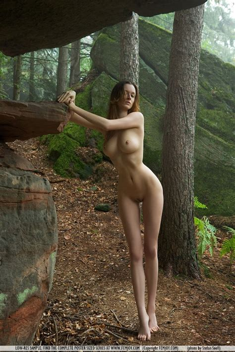 euro babes db naked girl in forest