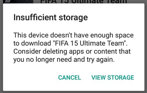 insufficient storage available android fix how to fix the insufficient storage available error on android