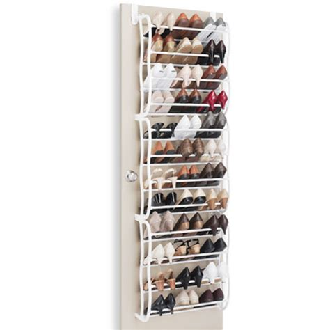 Oxgord The Door Shoe Rack For 36 Pairs Wall Hanging Closet Organizer Storage Stand Preview