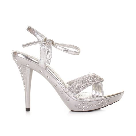 high heels silver shoes silver high heels
