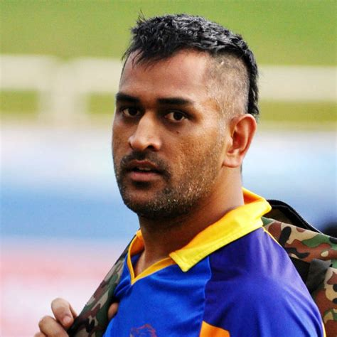 hairstyles of indian cricketers dhoni finds time to play with a little fan the video is