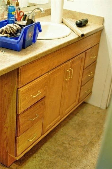 how to lighten dark stained cabinets staining oak cabinets an espresso color diy tutorial