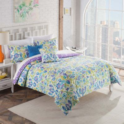 vue talulah 4 piece reversible twin comforter set