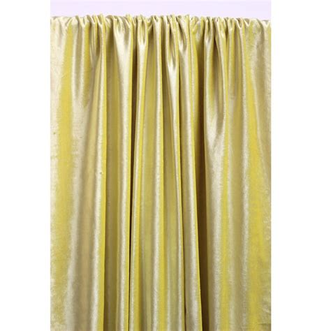yellow black out curtains yellow velvet curtain 52x84 rod pocket curtain
