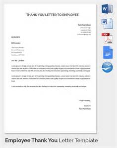 Thank You Letter Sample Hr Sample Thank You Letter To Employer 18 Download Free