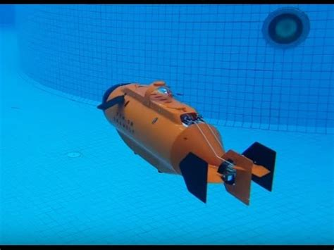 Rc Drone Dolphin 1328 Non thunder tiger ttrobotix seawolf submarine in the swimming