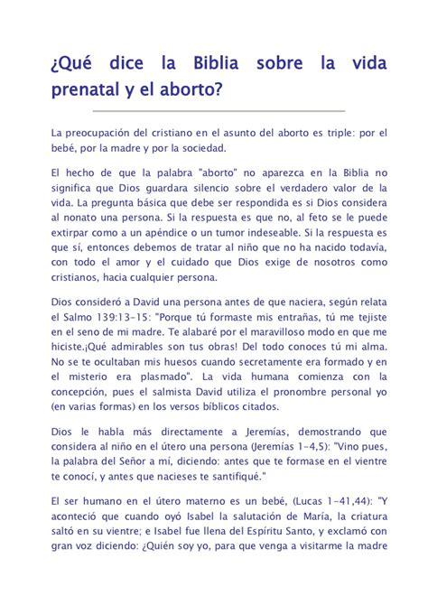 mensajes subliminales que dice la biblia qu 233 dice la biblia sobre la vida prenatal y el aborto