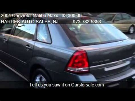 gas ls for sale 2004 chevrolet malibu maxx ls loaded gas saver for sale