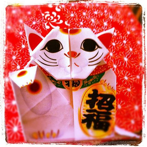 Maneki Neko Origami - 17 best images about lucky on ceramics
